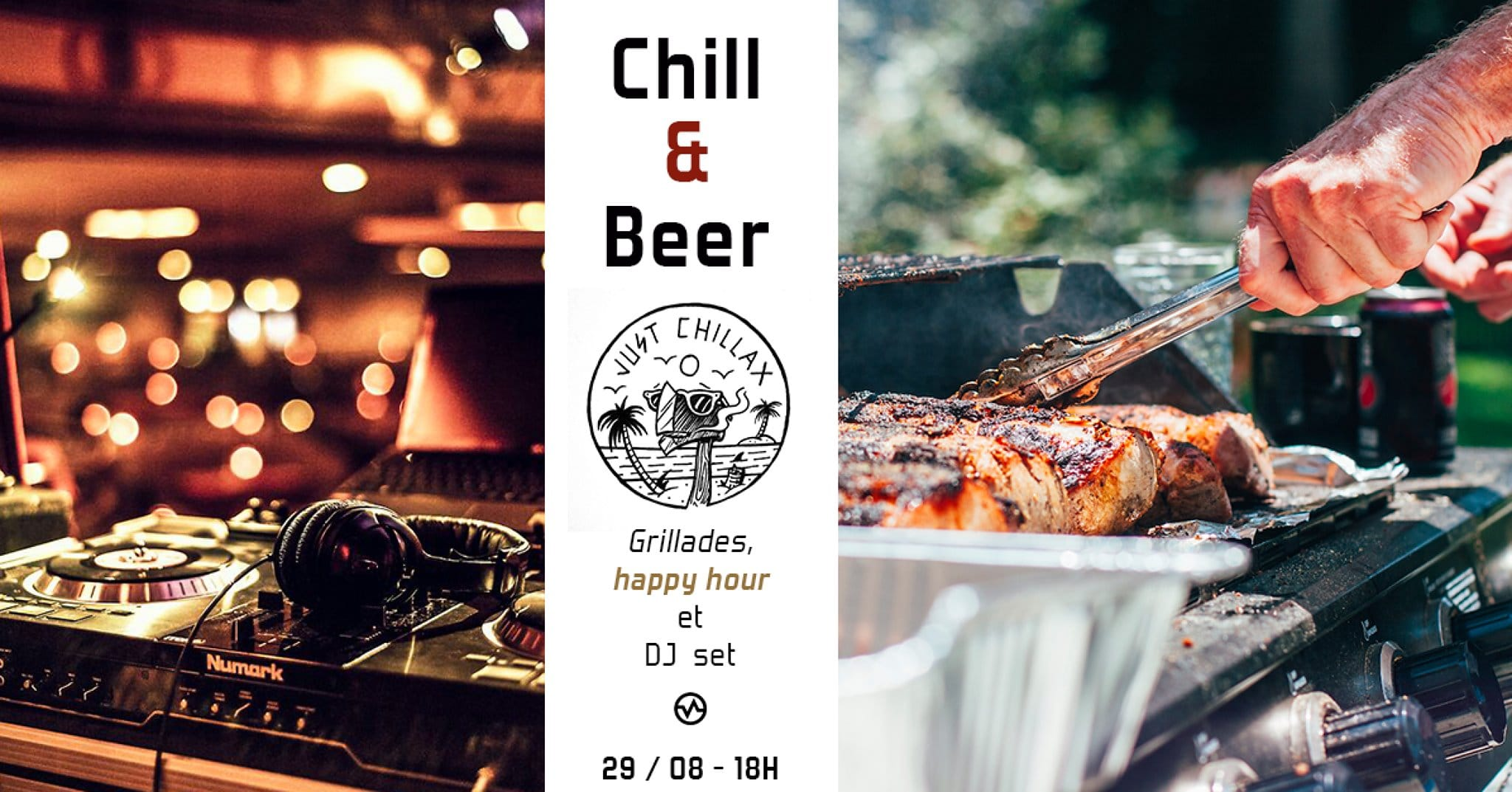 chill & beer - Vertical'Art Nantes - salle d'escalade de bloc - restaurant et bar - DJ set - Barbecue - soirée - news - bières - happy hour