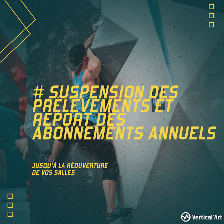 informations importante @covid-19, abonnements vertical'art