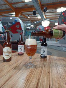 bière du moment à Vertical'Art Nantes